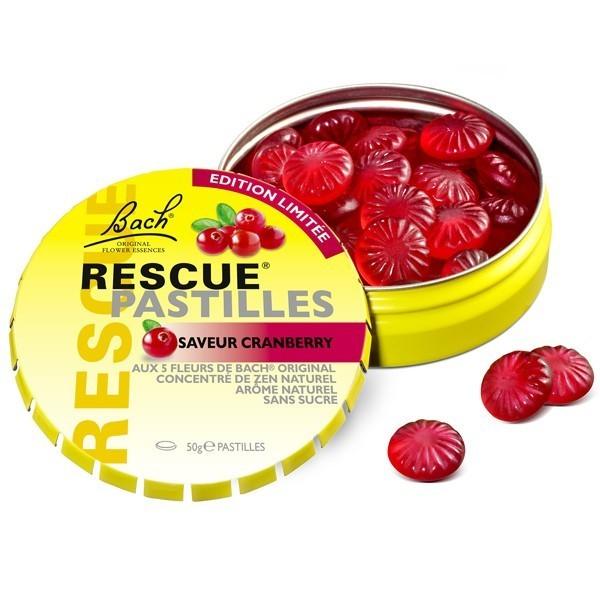 Rescue Pastille Cranberry Dr Bach Bien Etre Essentiel