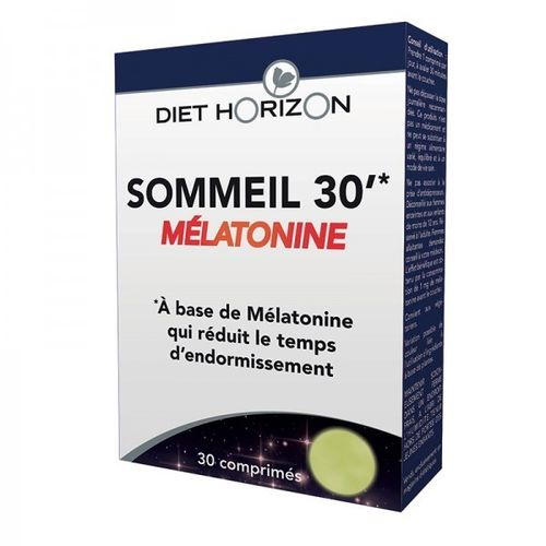 Sleep 30' Mélatonine DIET HORIZON