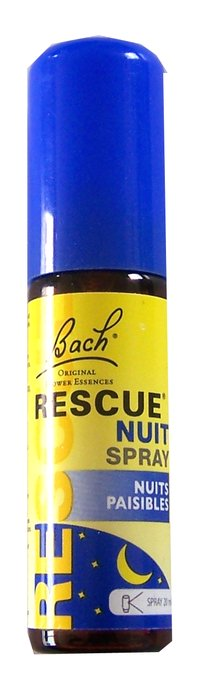 Rescue nuit spray BACH