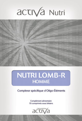 Nutri Lomb-R homme ACTIVA NUTRI