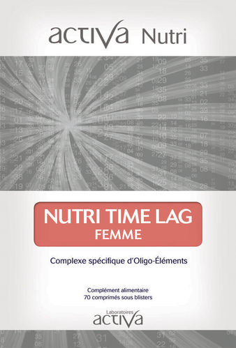Nutri Time lag Woman ACTIVA NUTRI
