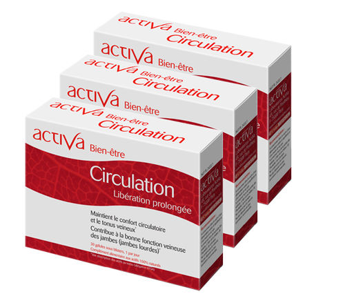 Well being circulation x3 ACTIVA