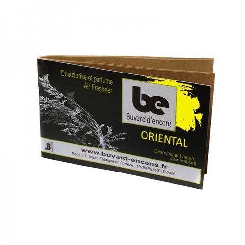 Blotting paper of Oriental incense