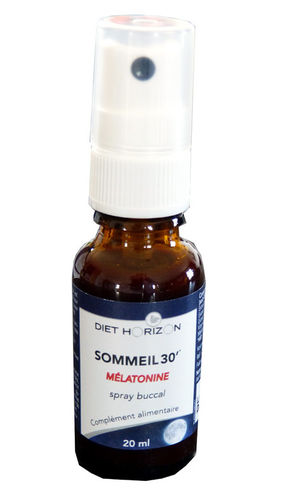 Sommeil 30' Mélatonine spray DIET HORIZON