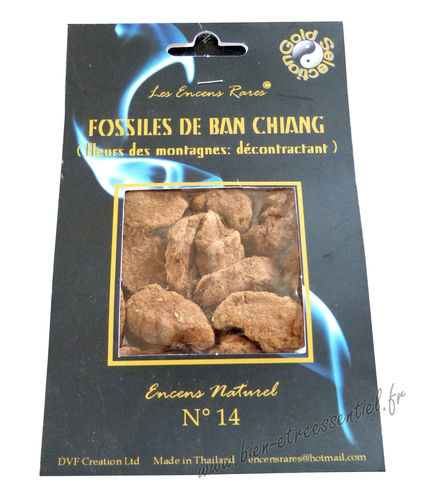 Incense n°14 relaxing Fossils of Ban Chiang