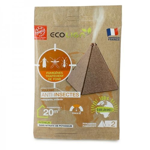 Smoke pyramid anti insects ECOLIGN