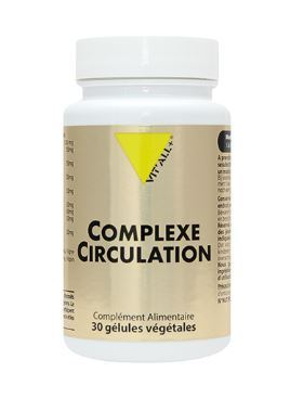 Complexe circulation 30 gélules VIT'ALL+