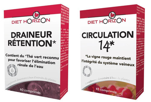 Pack circulation rétention DIET HORIZON
