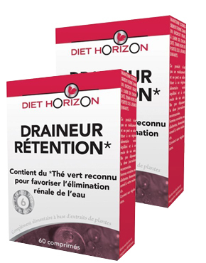 Draineur Rétention DIET HORIZON x2