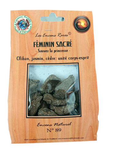 Incense n°89 Sacred female