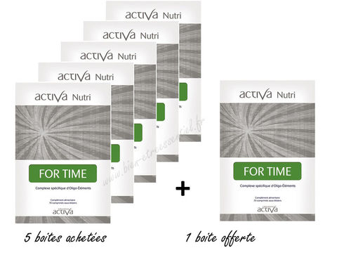 For Time ACTIVA NUTRI x 5