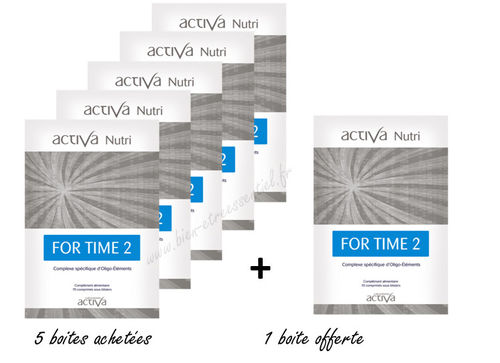 For Time 2 ACTIVA NUTRI x 5